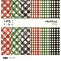Simple Stories - Jingle All The Way Collection - 12 x 12 Simple Basics Kit