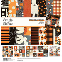 Simple Stories - Boo Crew Collection - 12 x 12 Collection Kit