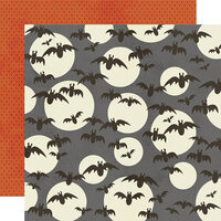 Simple Stories - Boo Crew Collection - 12 x 12 Double Sided Paper - So Fangtastic