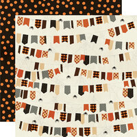 Simple Stories - Boo Crew Collection - 12 x 12 Double Sided Paper - Ew Creepy