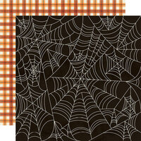 Simple Stories - Boo Crew Collection - 12 x 12 Double Sided Paper - Happy Haunting