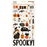 Simple Stories - Boo Crew Collection - 6 x 12 Chipboard Stickers