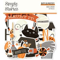 Simple Stories - Boo Crew Collection - Ephemera - Bits and Pieces