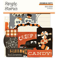 Simple Stories - Boo Crew Collection - Ephemera - Journal Bits