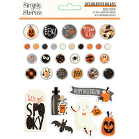 Simple Stories - Boo Crew Collection - Decorative Brads