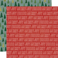 Simple Stories - Winter Cottage Collection - 12 x 12 Double Sided Paper - Merry and Bright