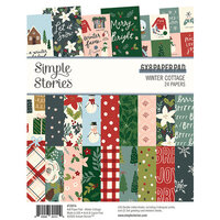 Simple Stories - Winter Cottage Collection - 6 x 8 Paper Pad