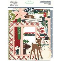Simple Stories - Winter Cottage Collection - Chipboard Frames