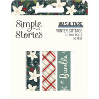 Simple Stories - Winter Cottage Collection - Washi Tape