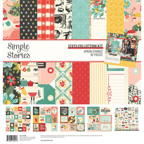Simple Stories - Apron Strings Collection - 12 x 12 Collection Kit