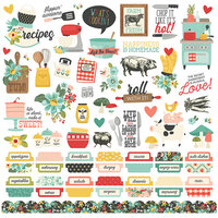 Simple Stories - Apron Strings Collection - 12 x 12 Cardstock Stickers