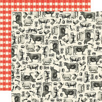 Simple Stories - Apron Strings Collection - 12 x 12 Double Sided Paper - Farm to Table