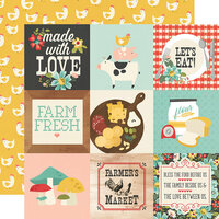 Simple Stories - Apron Strings Collection - 12 x 12 Double Sided Paper - 4 x 4 Elements
