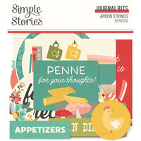 Simple Stories - Apron Strings Collection - Ephemera - Journal Bits