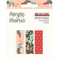 Simple Stories - Apron Strings Collection - Washi Tape