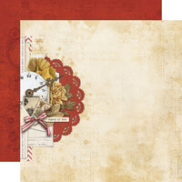 Simple Stories - Simple Vintage Ancestry Collection - 12 x 12 Double Sided Paper - Yesteryear
