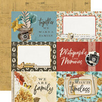Simple Stories - Simple Vintage Ancestry Collection - 12 x 12 Double Sided Paper - 4 x 6 Elements