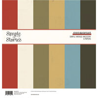 Simple Stories - Simple Vintage Ancestry Collection - 12 x 12 Basics Kit