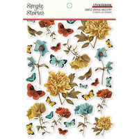 Simple Stories - Simple Vintage Ancestry Collection - Sticker Book