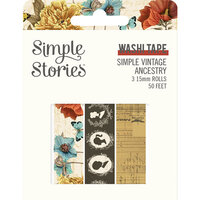 Simple Stories - Simple Vintage Ancestry Collection - Washi Tape