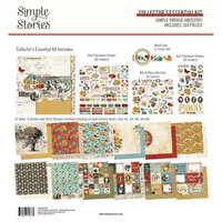 Simple Stories - Simple Vintage Ancestry Collection - 12 x 12 Collector's Essential Kit