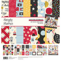 Simple Stories - Say Cheese Main Street Collection - 12 x 12 Collection Kit