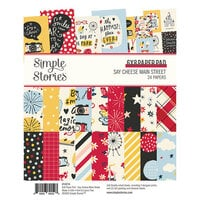 Simple Stories - Say Cheese Main Street Collection - 6 x 8 Paper Pad