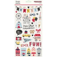 Simple Stories - Say Cheese Main Street Collection - 6 x 12 Chipboard Stickers