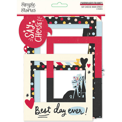 Simple Stories - Say Cheese Main Street Collection - Chipboard Frames