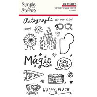Simple Stories - Say Cheese Main Street Collection - Clear Photopolymer Stamps