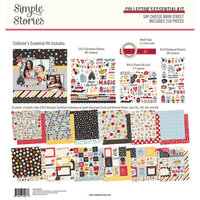 Simple Stories - Say Cheese Main Street - 12 x 12 Collector's Essential Kit