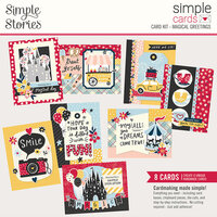 Simple Stories - Say Cheese Main Street - Simple Cards Card Kit - Magical Greetings