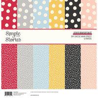 Simple Stories - Say Cheese Main Street - 12 x 12 Basics Kit