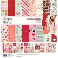 Simple Stories - Sweet Talk Collection - 12 x 12 Collection Kit