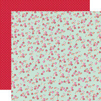 Simple Stories - Sweet Talk Collection - 12 x 12 Double Sided Paper - Love Is