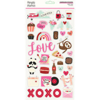 Simple Stories - Sweet Talk Collection - 6 x 12 Chipboard Stickers