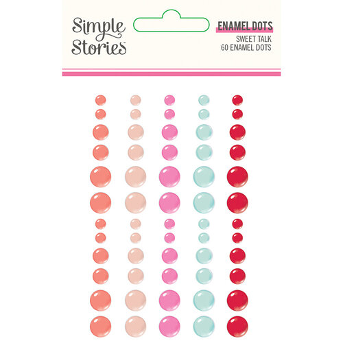 Sweet Talk Enamel Dots