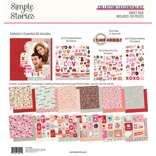 Simple Stories - Sweet Talk Collection - 12 x 12 Collector's Essential Kit