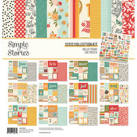Simple Stories - Hello Today Collection - 12 x 12 Collection Kit