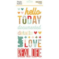 Simple Stories - Hello Today Collection - Foam Stickers