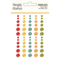 Simple Stories - Hello Today Collection - Enamel Dots