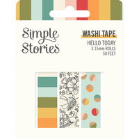 Simple Stories - Hello Today Collection - Washi Tape