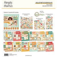 Simple Stories - Hello Today Collection - 12 x 12 Collector's Essential Kit