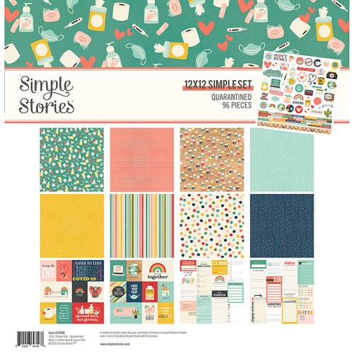 Simple Stories - Quarantined Collection - 12 x 12 Collection Kit
