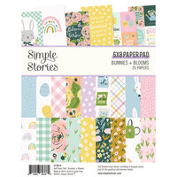 Simple Stories - Bunnies and Blooms Collection - 6 x 8 Paper Pad