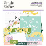 Simple Stories - Bunnies and Blooms Collection - Ephemera - Journal Bits and Pieces