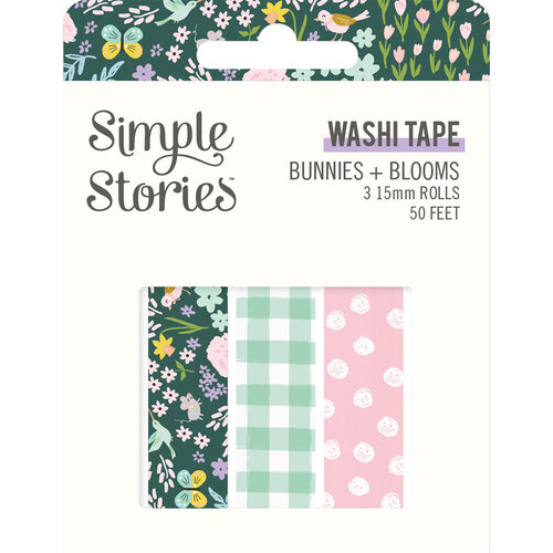 Simple Stories - Bunnies and Blooms Collection - Washi Tape