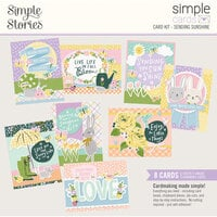 Simple Stories - Simple Pages Collection - Card Kit - Sending Sunshine