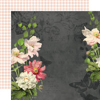 Simple Stories - Simple Vintage Cottage Fields Collection - 12 x 12 Double Sided Paper - Embrace Each Day