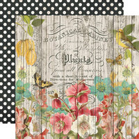Simple Stories - Simple Vintage Cottage Fields Collection - 12 x 12 Double Sided Paper - Natural Beauty